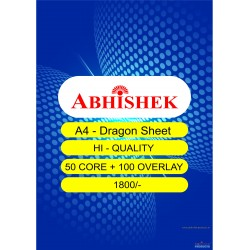 Abhishek A4 Dragon Sheet