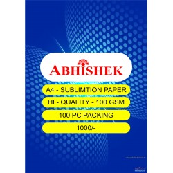 Abhishek A4 Sublimation Paper