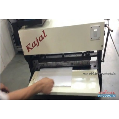 Electric Spiral Machine - kajal Spiral Binding Machine