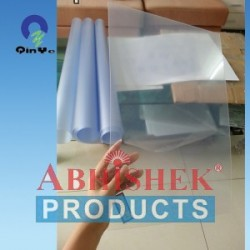 24X36 0.32 MM TRANSPARENT PVC RIGID SHEET (GLOSSY/GLOSSY)