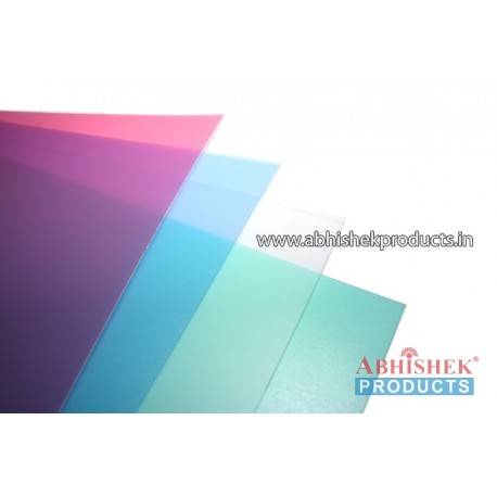 32X36 0.70 MM TRANSPARENT PP SHEET (MATT/MATT)