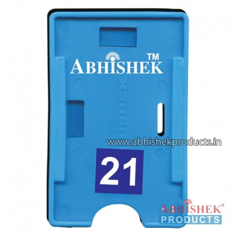 54X86 Mm Both Light Blue Holder (No 21)