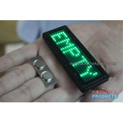 Programmable LED Name Badge