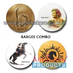 baahubali Button Badge