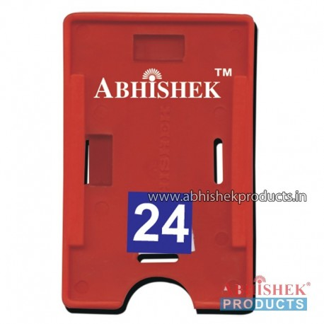 54X86 Mm Both Red Holder (No 24)