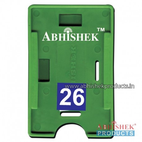 54X86 Mm Both Green Holder (No 26)