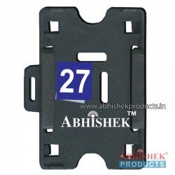 54X86 Mm Horizontal Black Holder (No 27)