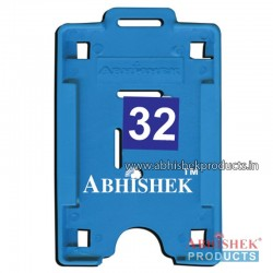 54X86 Mm Vertical Light Blue Holder (No 32)