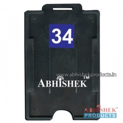 54X86 Mm Vertical Black Holder (No 34)