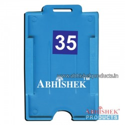 54X86 Mm Vertical Light Blue Holder (No 35)
