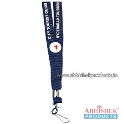 Navy Blue Sleeve Tags and landyard (T1)