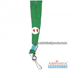 Parrot Green Sleeve Tags and landyard (T11)