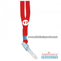 Red Sleeve Tags and landyard (T17)