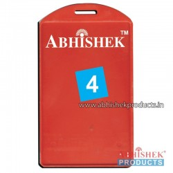 54X86 Mm Vertical Red Holder (No 4)