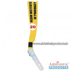 Yellow Sleeve Tags and landyard (T20)
