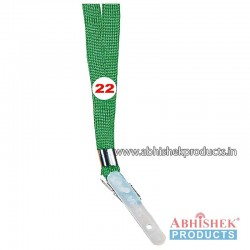 Parrot Green Sleeve Tags and landyard (T22)