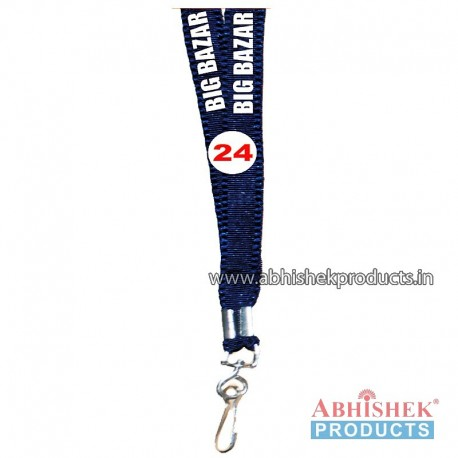 Navy Blue Flat Tags and landyard (T24)