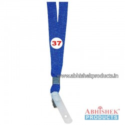 Light Blue Flat Tags and landyard (T37)