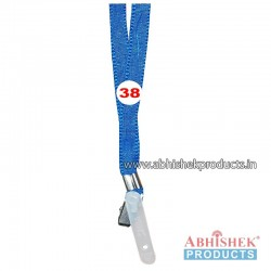 Sky Blue Flat Tags and landyard (T38)