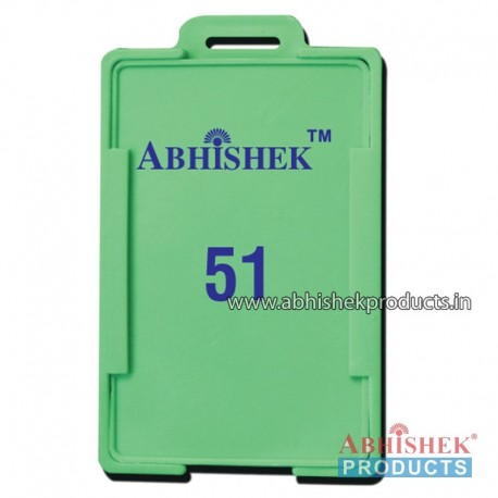 54X86 Mm Vertical Green Holder (No 51)