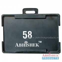 54X86 Mm Horizontal Black Holder (No 58)