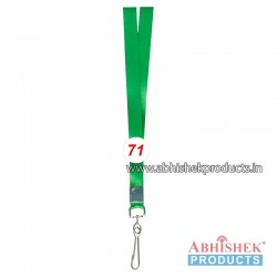 Parrot Green Shine Tags and landyard (T71)