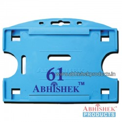 54X86 Mm Horizontal Light Blue Holder (No 61)