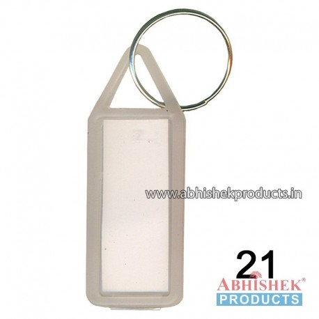 Translucent Fancy Key Chain Customizable (No 21)