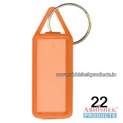 Orange Fancy Key Chain Customizable (No 22)