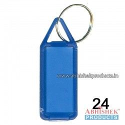 Blue Fancy Key Chain Customizable (No 24)