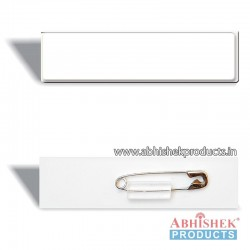 29x84 mm White Badge (No 1)