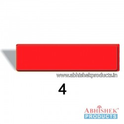 29x84 mm Red Badge (No 4)