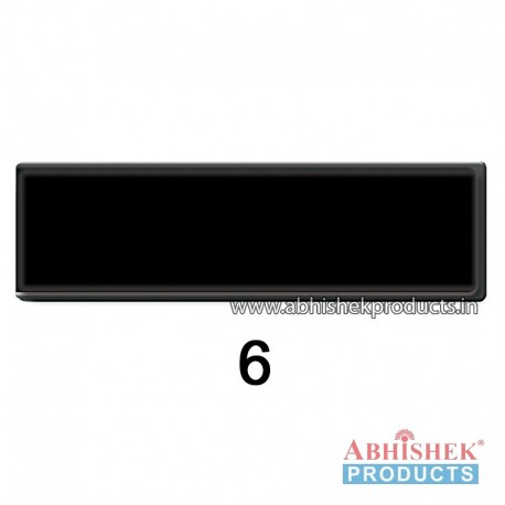 29x84 mm Black Badge (No 6)