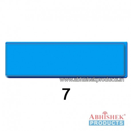 29x84 mm Blue Badge (No 7)