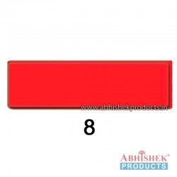 29x84 mm Red Badge (No 8)