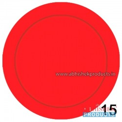 35x35 mm Red Badge (No 15)