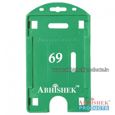 54X86 Mm Vertical Green Holder (No 69)
