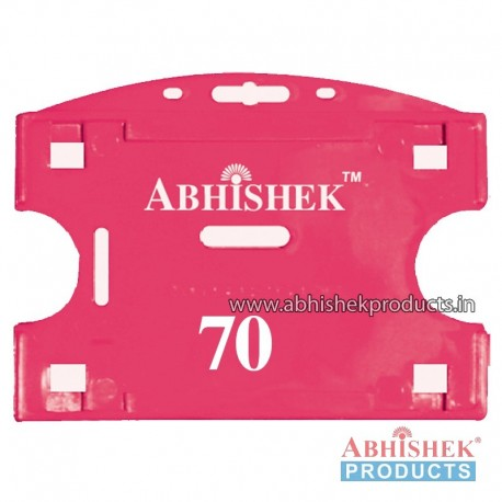 54X86 Mm Horizontal Pink Holder (No 70)