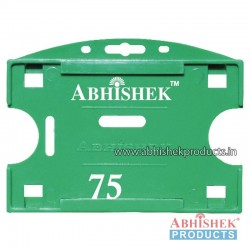 54X86 Mm Horizontal Green Holder (No 75)