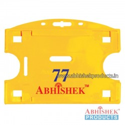54X86 Mm Horizontal Yellow Holder (No 77)