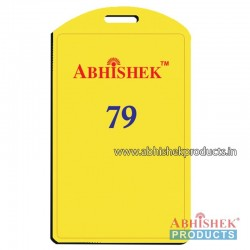 54X86 Mm Vertical Yellow Holder (No 79)