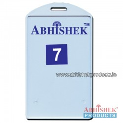 54X86 Mm Vertical Sky Blue Holder (No 7)