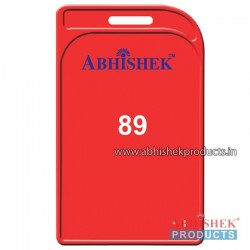 48X72 Mm Vertical Red Holder (No 89)