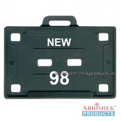 54X86 Mm Horizontal Black Holder (No 98)