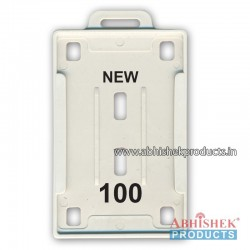 54X86 Mm Vertical White Holder (No 100)