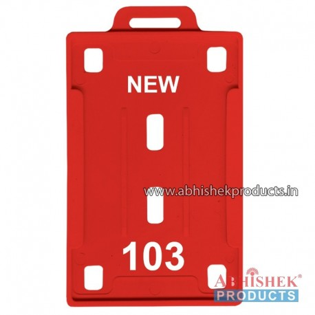 54X86 Mm Vertical Red Holder (No 103)