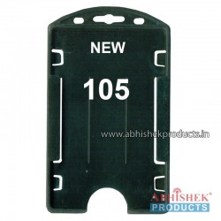 54X86 Mm Vertical Black Holder (No 105)