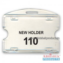 54X86 Mm Horizontal Transparent Holder (No 110)