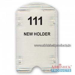 54X86 Mm Vertical Transparent Holder (No 111)