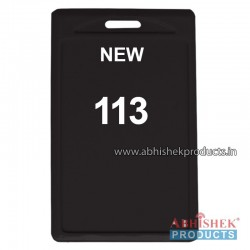 48X72 Mm Vertical Black Holder (No 113)